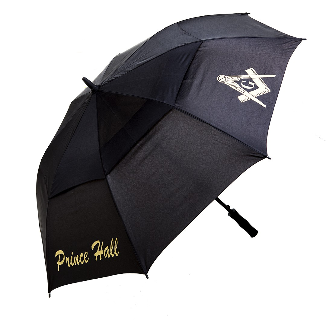 Masonic Gifts 8 Panel Classic Air Vent Umbrella