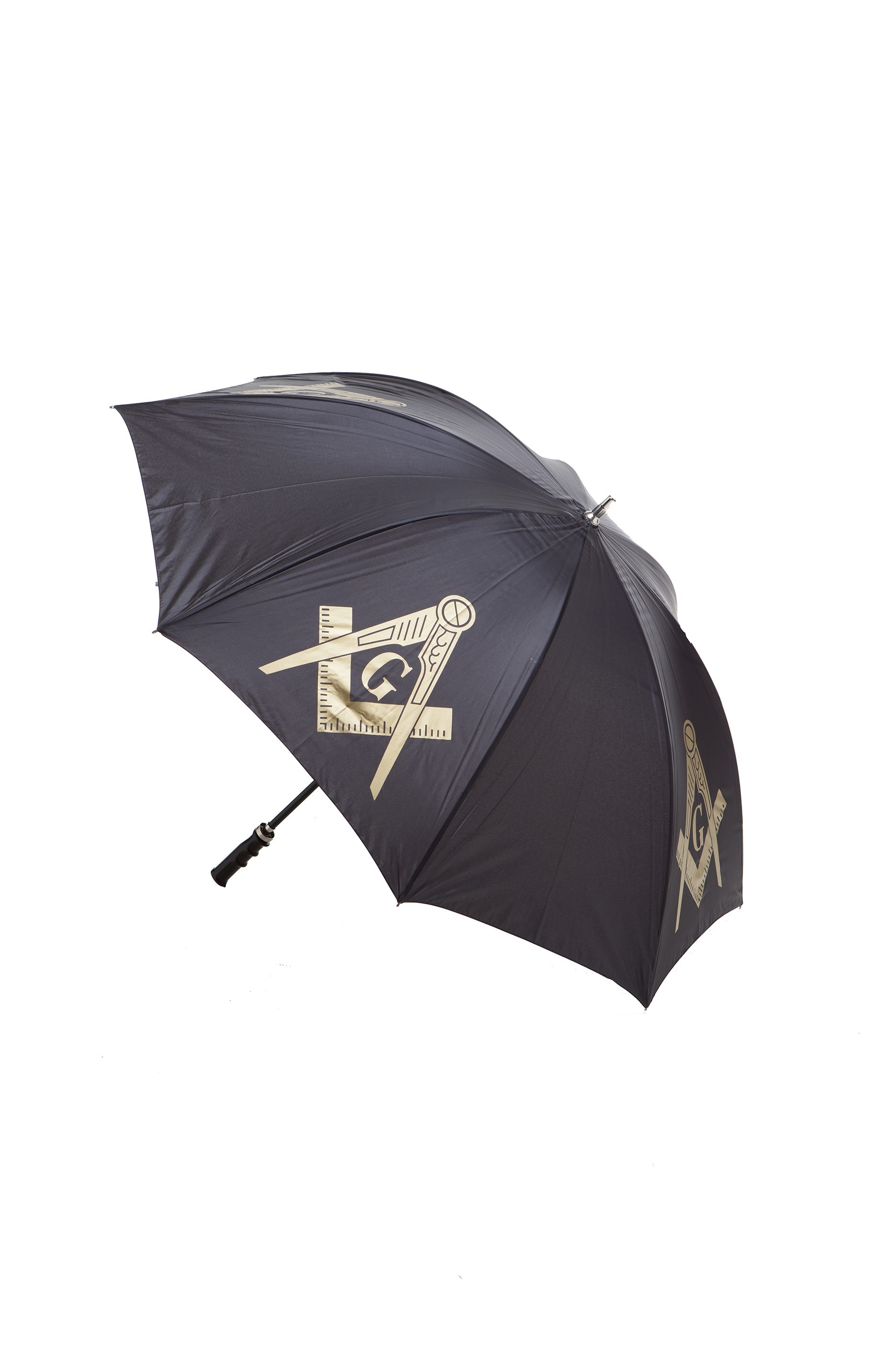 Masonic Gifts 30 inch Jumbo Umbrella Black