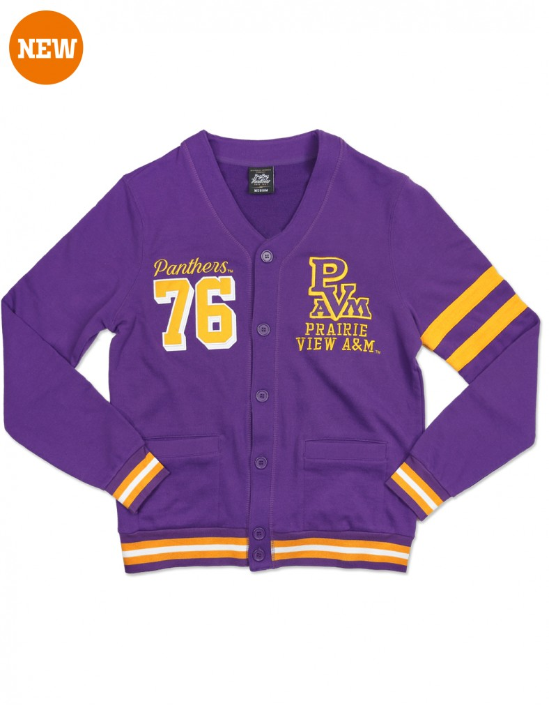 Prairie View A & M University Apparel Men's Cardigan