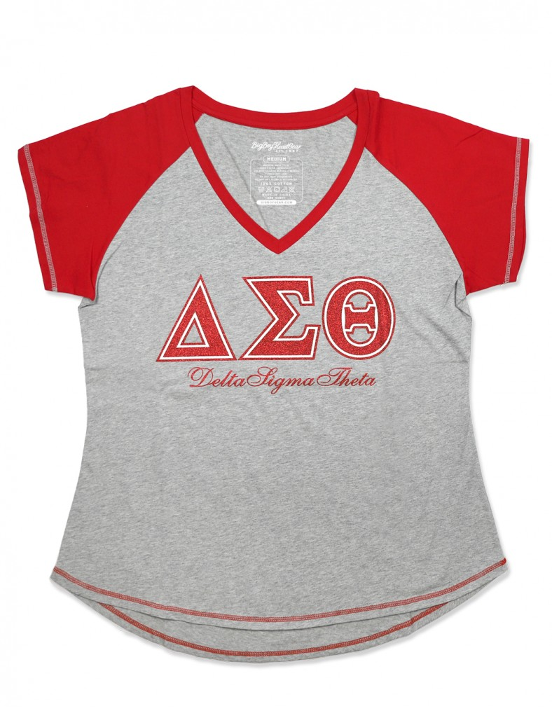 Delta Sigma Theta Apparel T Shirt V neck