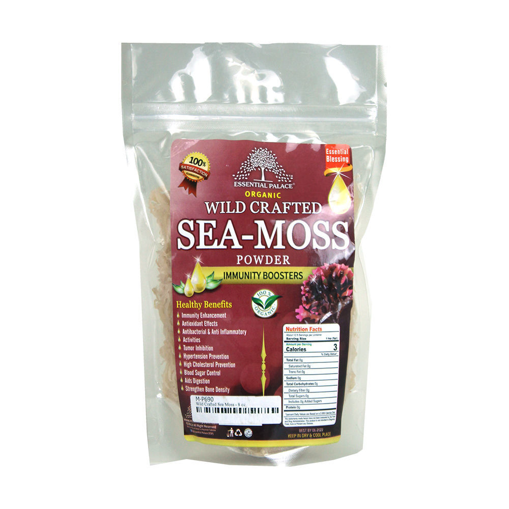 Sea Moss Salted - 8 oz. - Dr Sebi