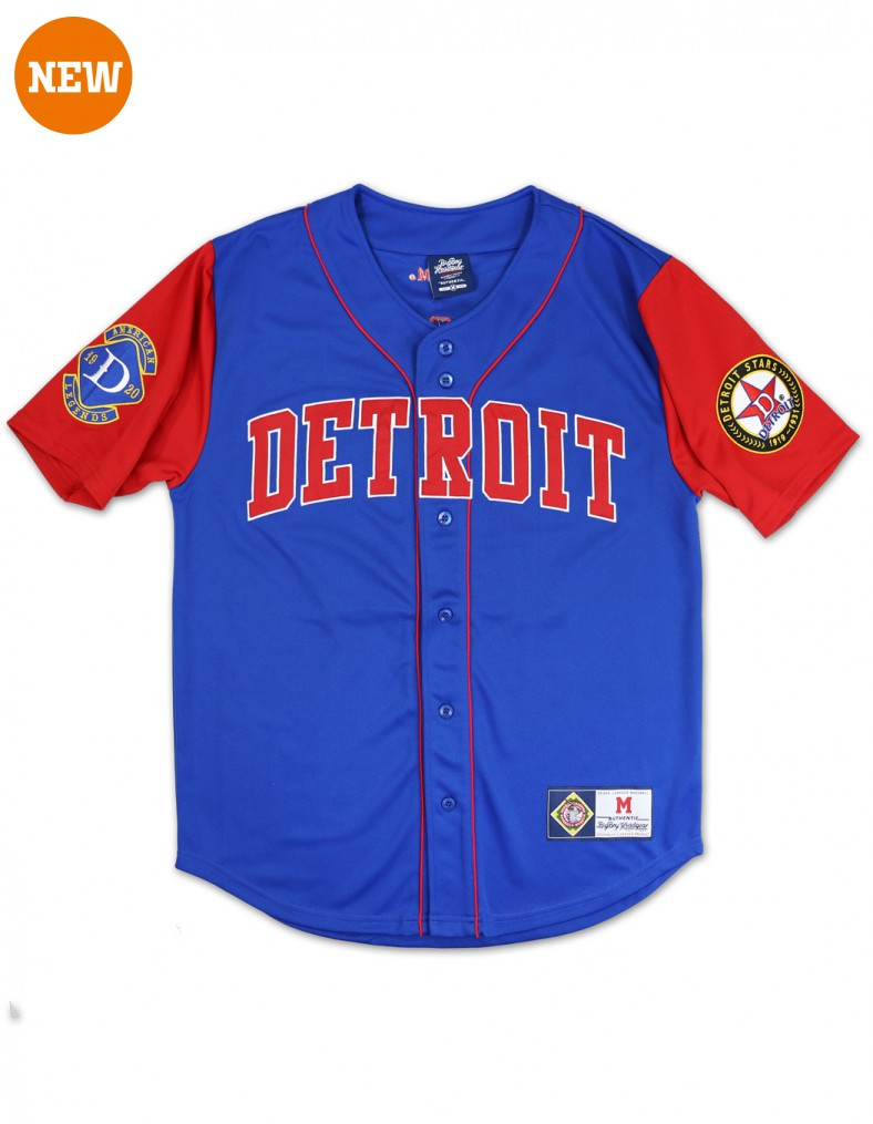 Detroit Stars Negro League Baseball Team Jersey