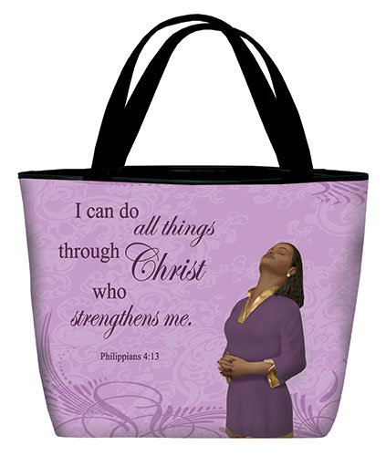 Tote bag: I can do all, Phil 4:13