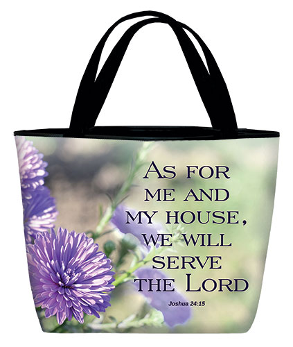 Totebag-As for me and my house