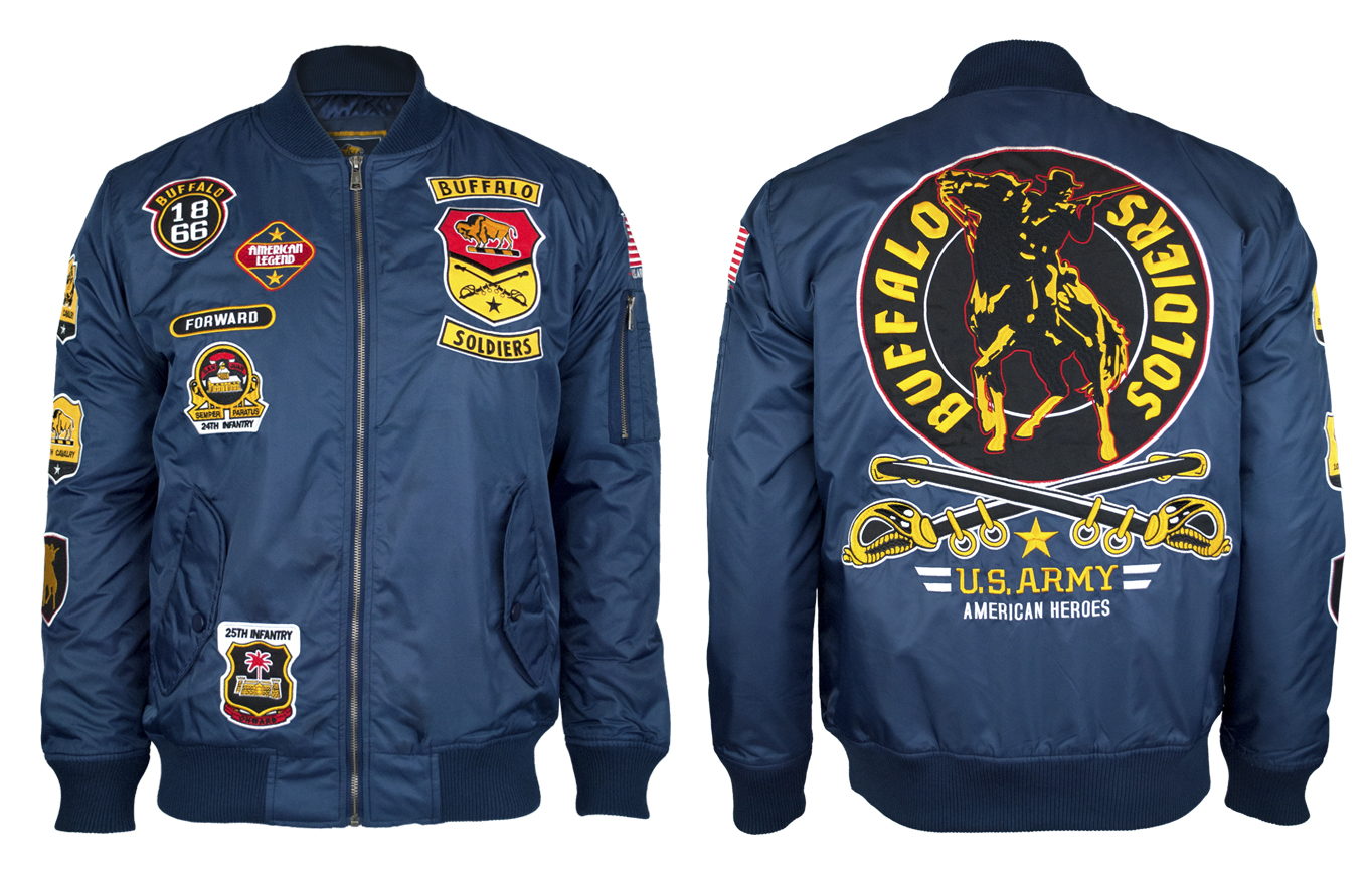 Buffalo Soldiers Jacket - Bomber