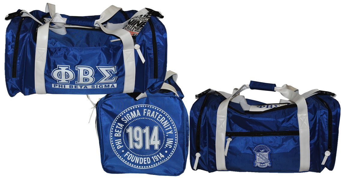 Phi Beta Sigma Duffel Bag