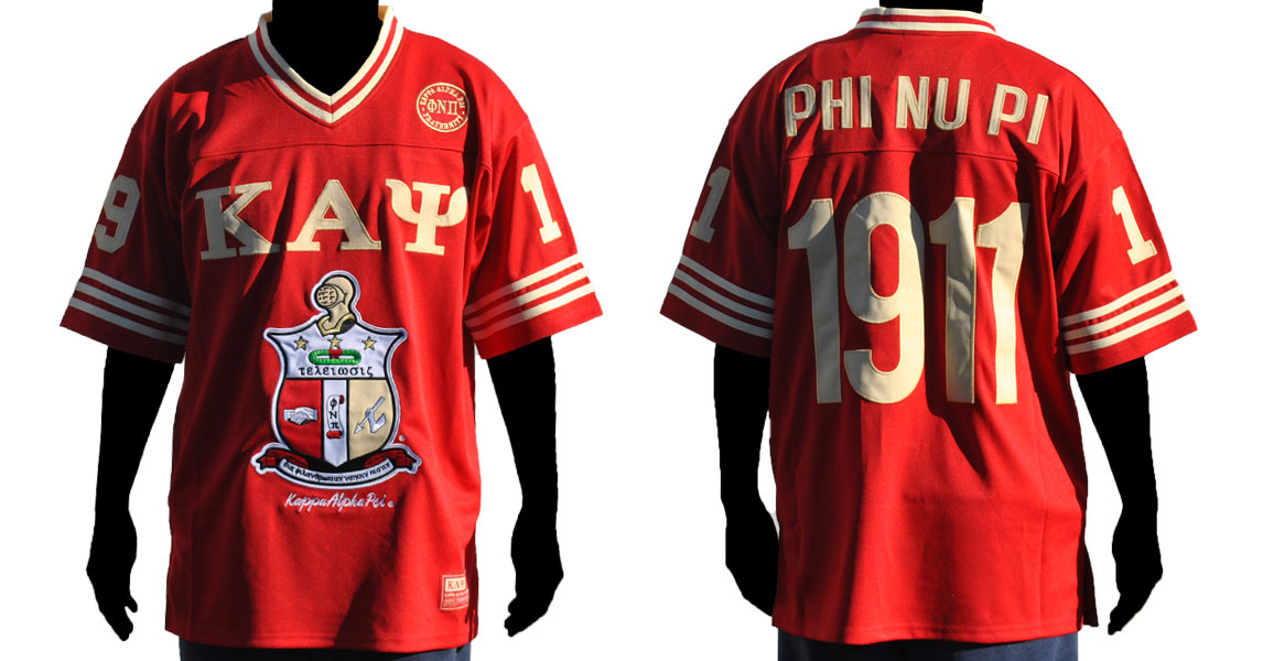 Kappa - Kappa Alpha Psi apparel-Football Jersey