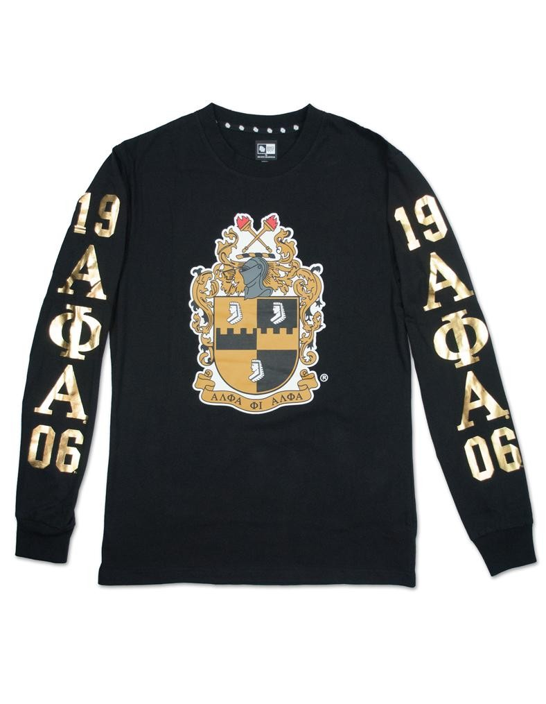 Alpha Phi Alpha apparel Long sleeve T shirt