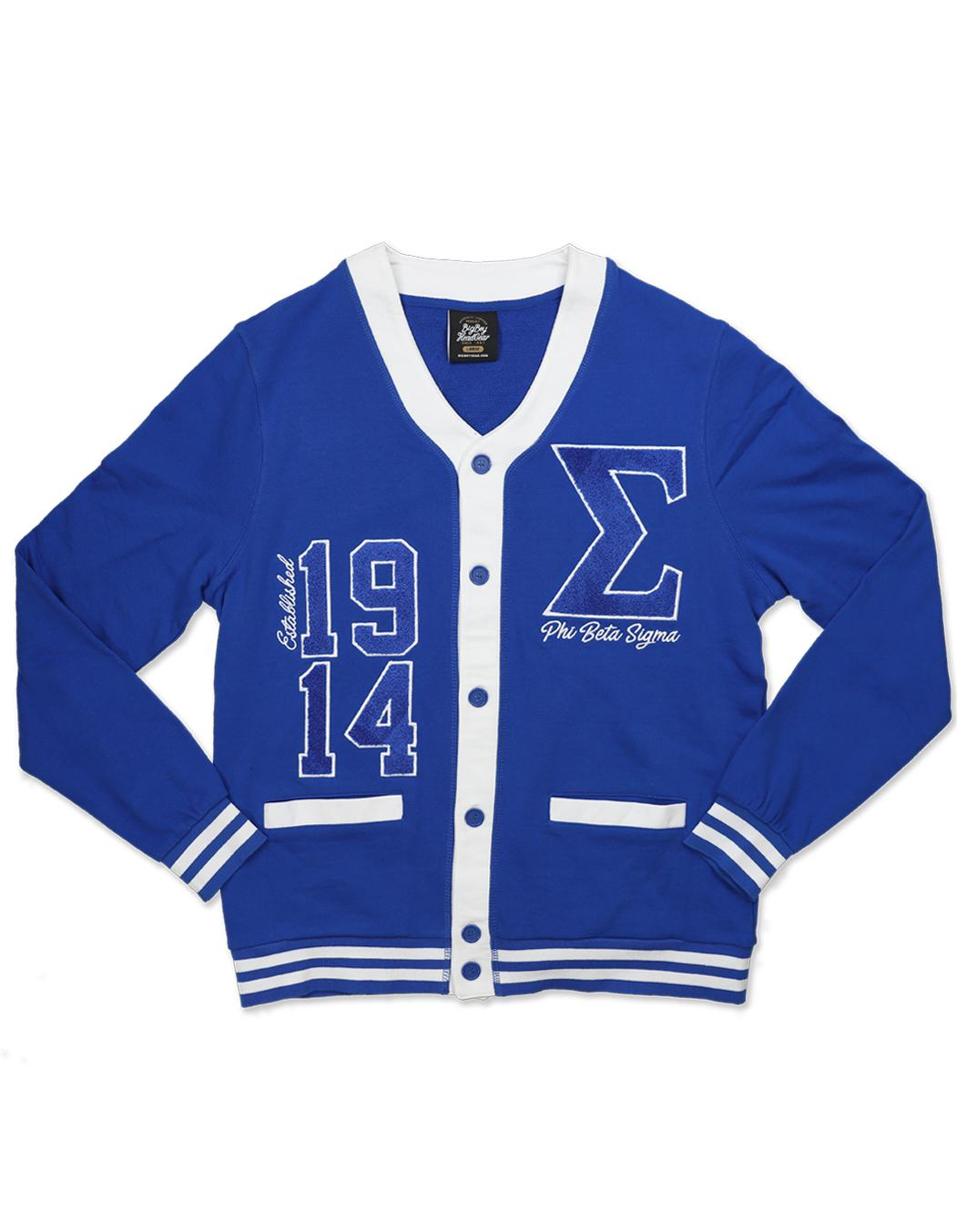 Phi Beta Sigma apparel lightweight cardigan