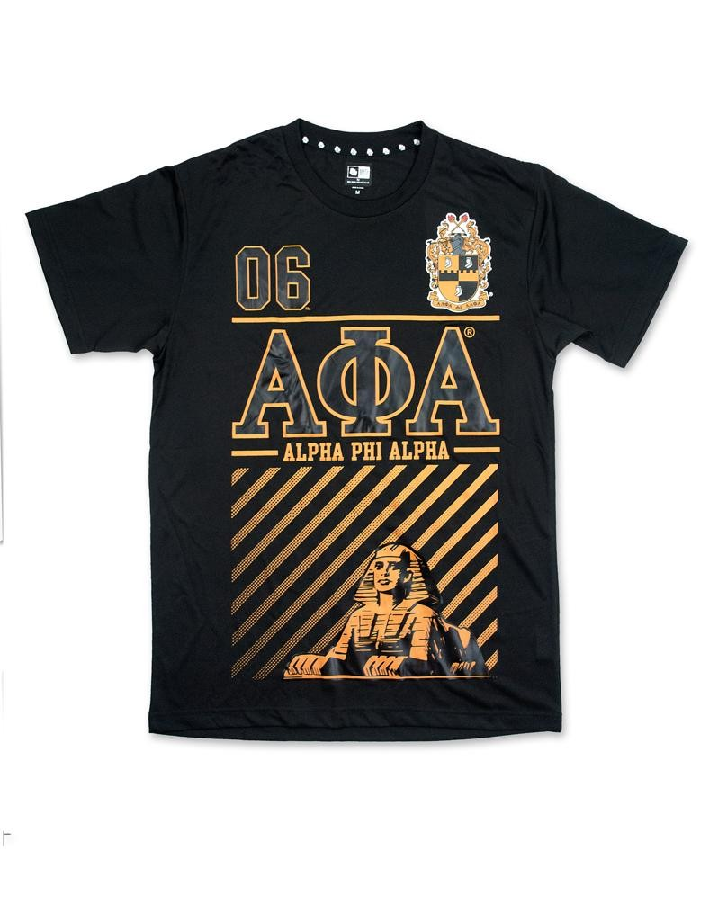 Alpha Phi Alpha apparel T shirt BLK