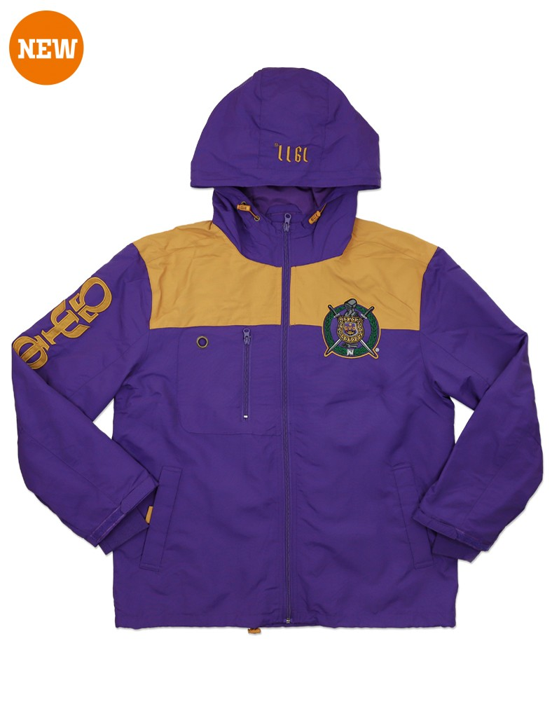 Omega Psi Phi apparel Windbreaker