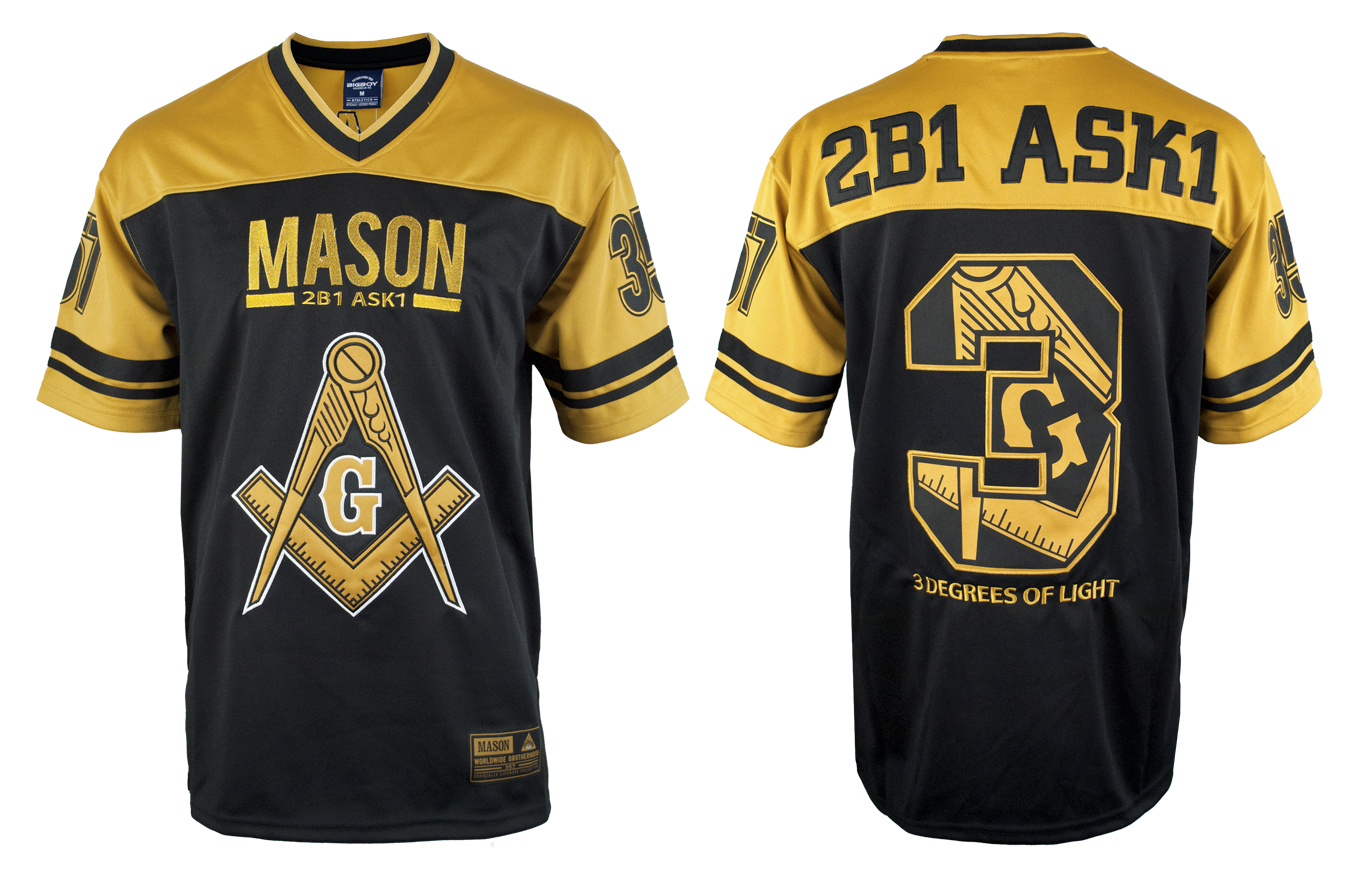 Freemason apparel - Football Jersey - Masonic
