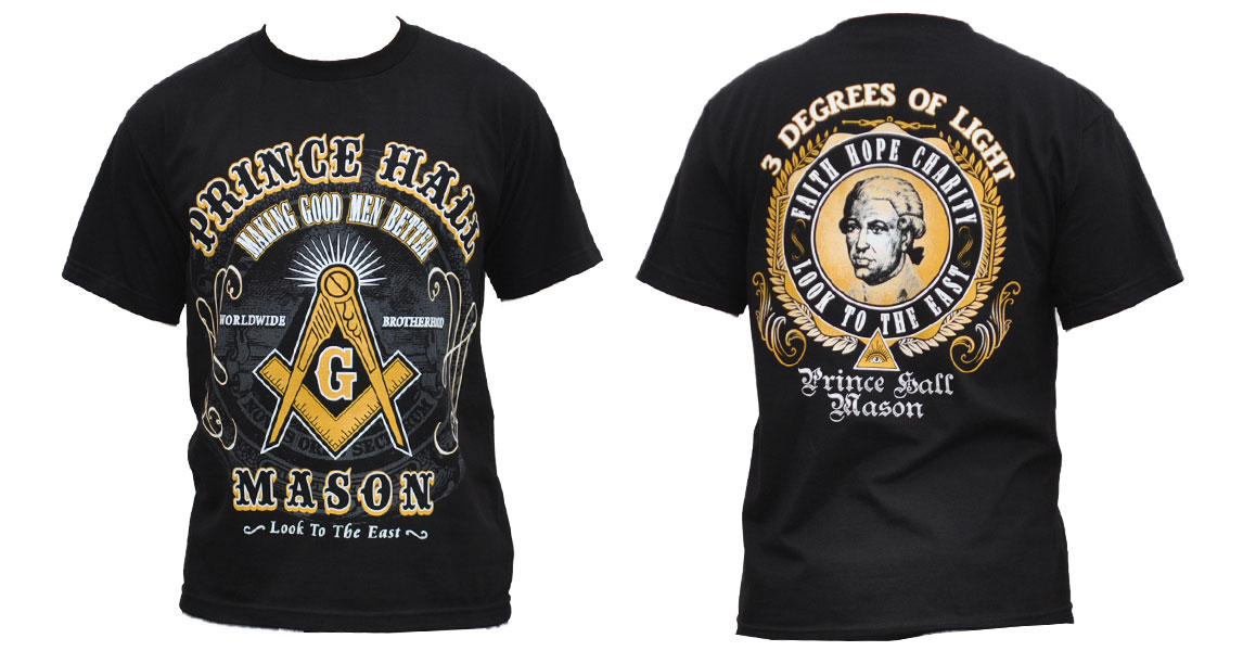 Prince Hall T shirt - Masonic