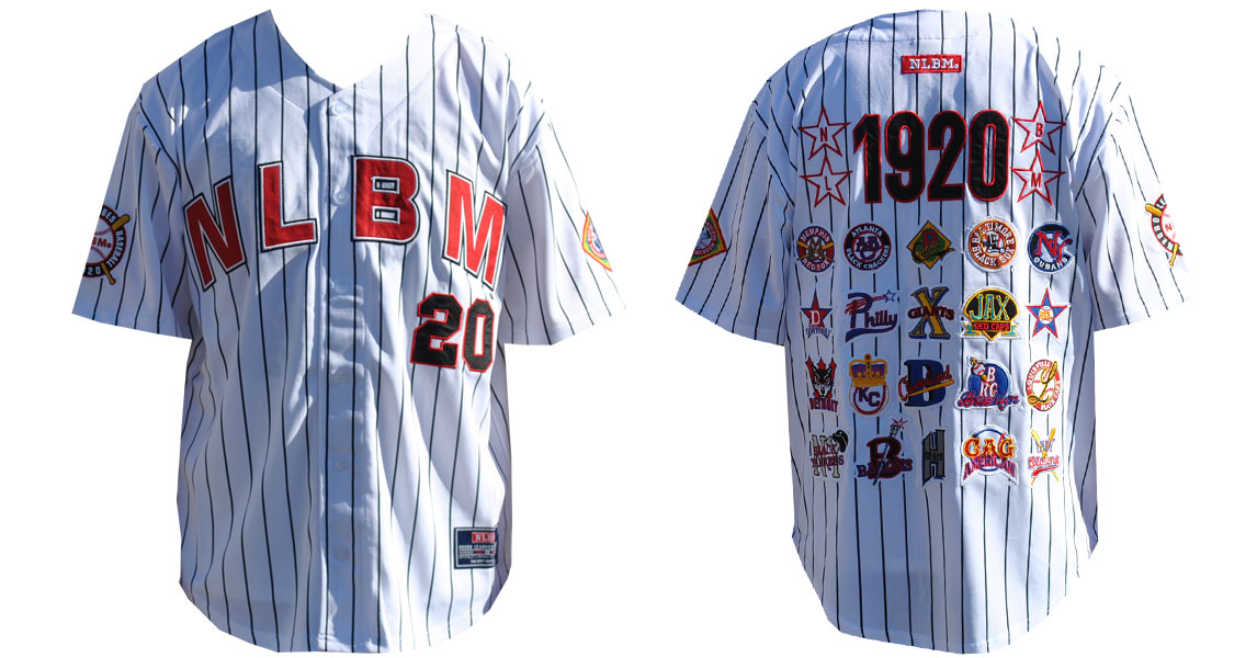 Negro League Commemorative Baseball Jersey-WHT