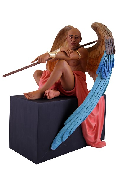 Angel Figurine - Angel At Rest by Thomas Blackshear - NEW!