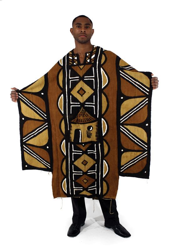 Grand Bubu Mud Cloth Robe