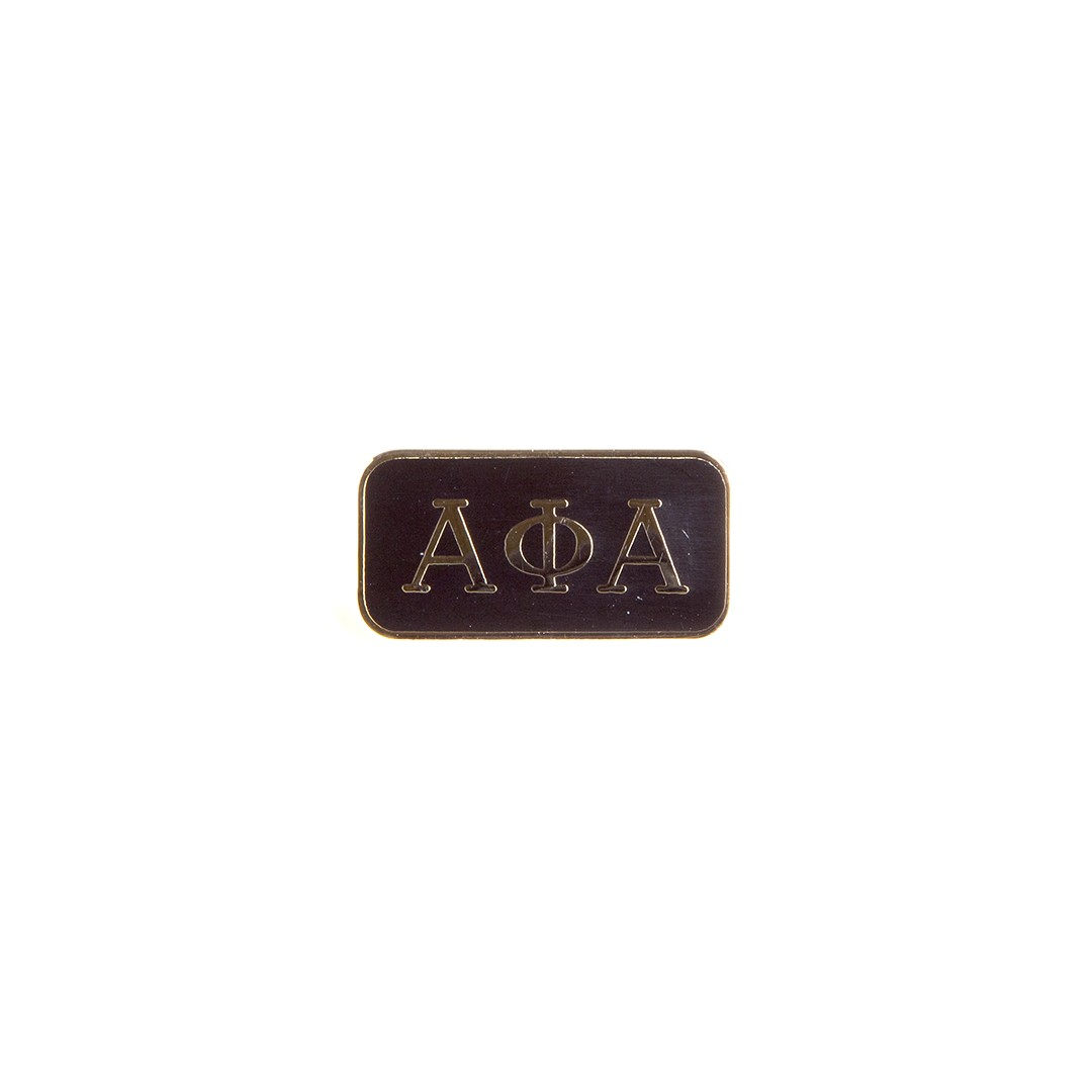 Alpha Phi Alpha Jewelry 3 Letter Lapel Pin