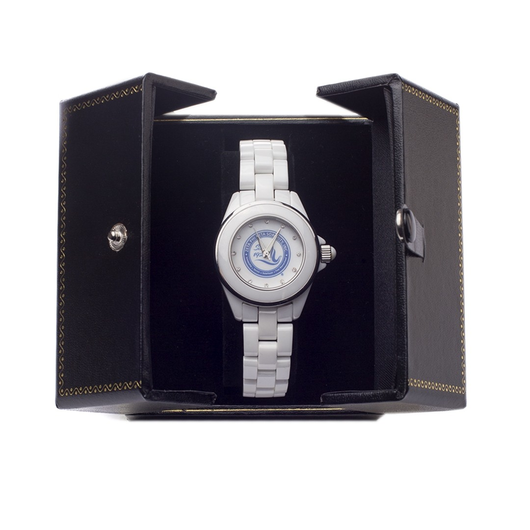 Zeta Phi Beta Jewelry Ceramic Watch