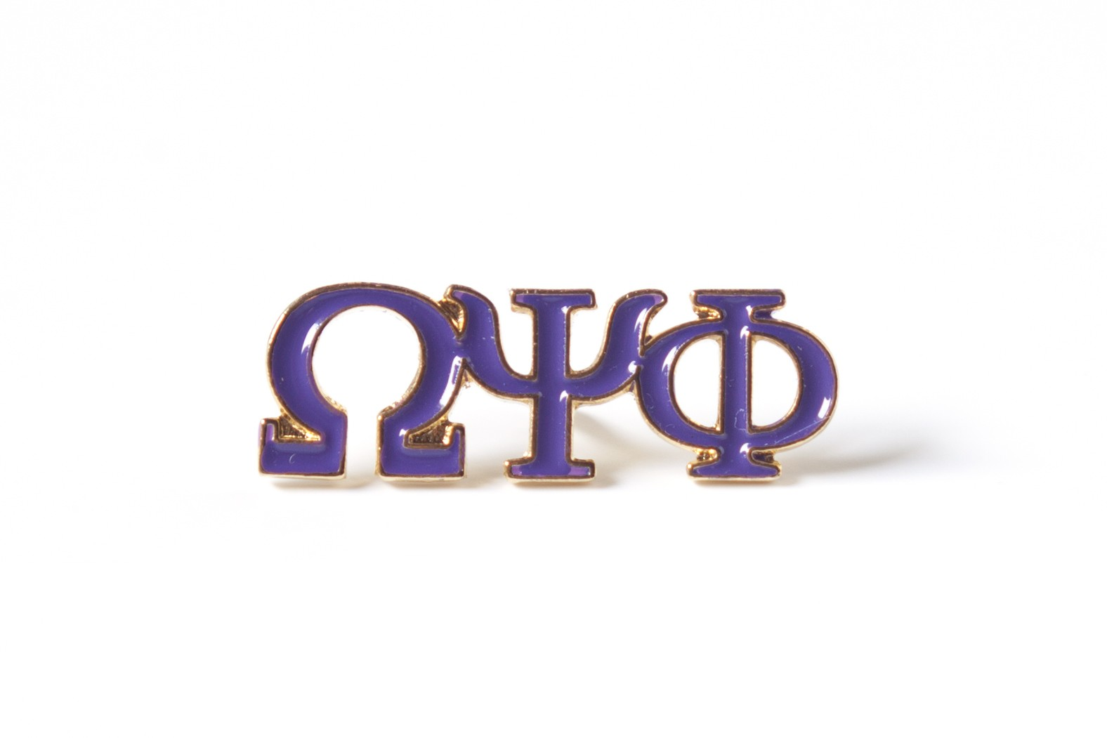 Omega Psi Phi Jewelry 3 Letter Color Pin Letter Color Pin