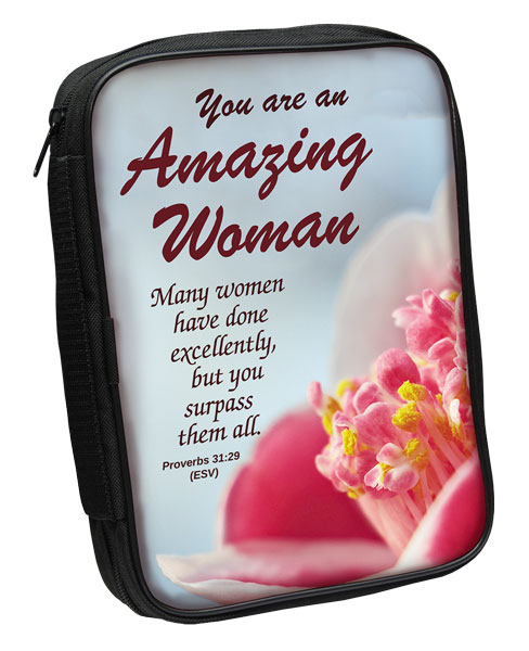 Bible Cover: Amazing Woman