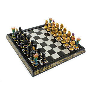 Egyptian Chess Set polyresin