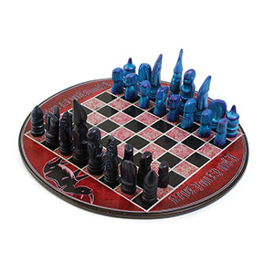 African Soapstone Chess Set Kenya