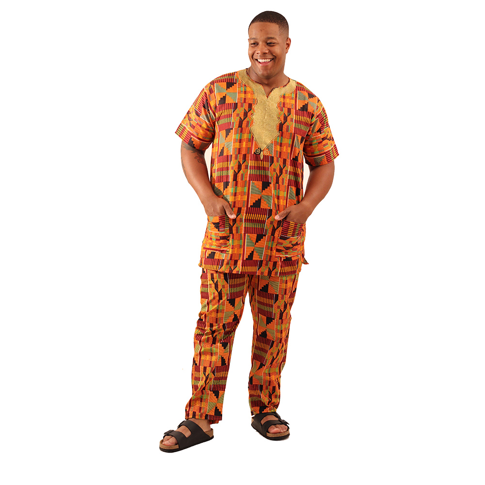 African Kente Pants set
