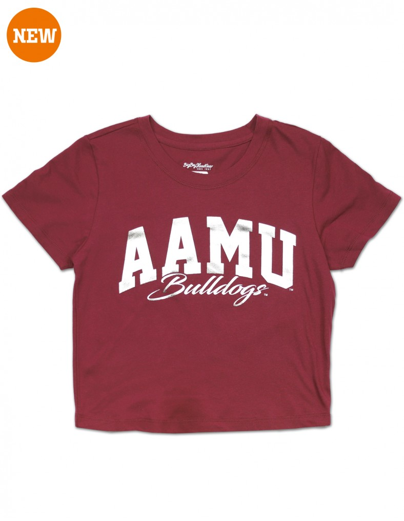 Alabama A & M University Cropped T Shirt