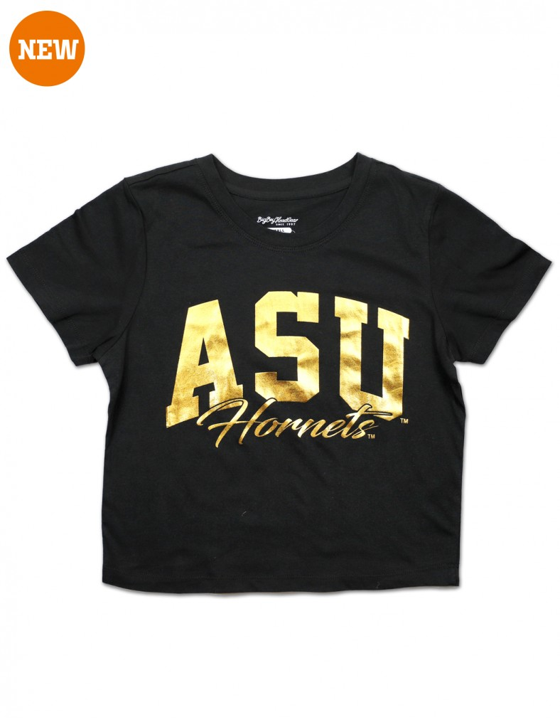 Alabama State University cropped T shirt