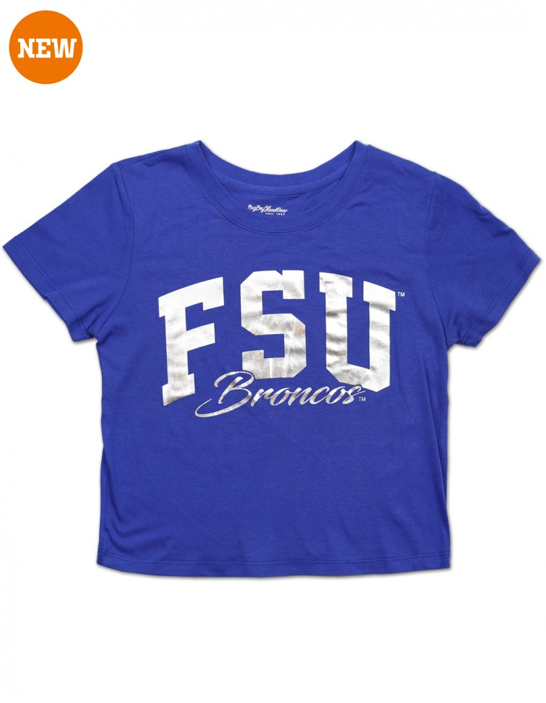 Fayetteville State University Cropped T Shirt