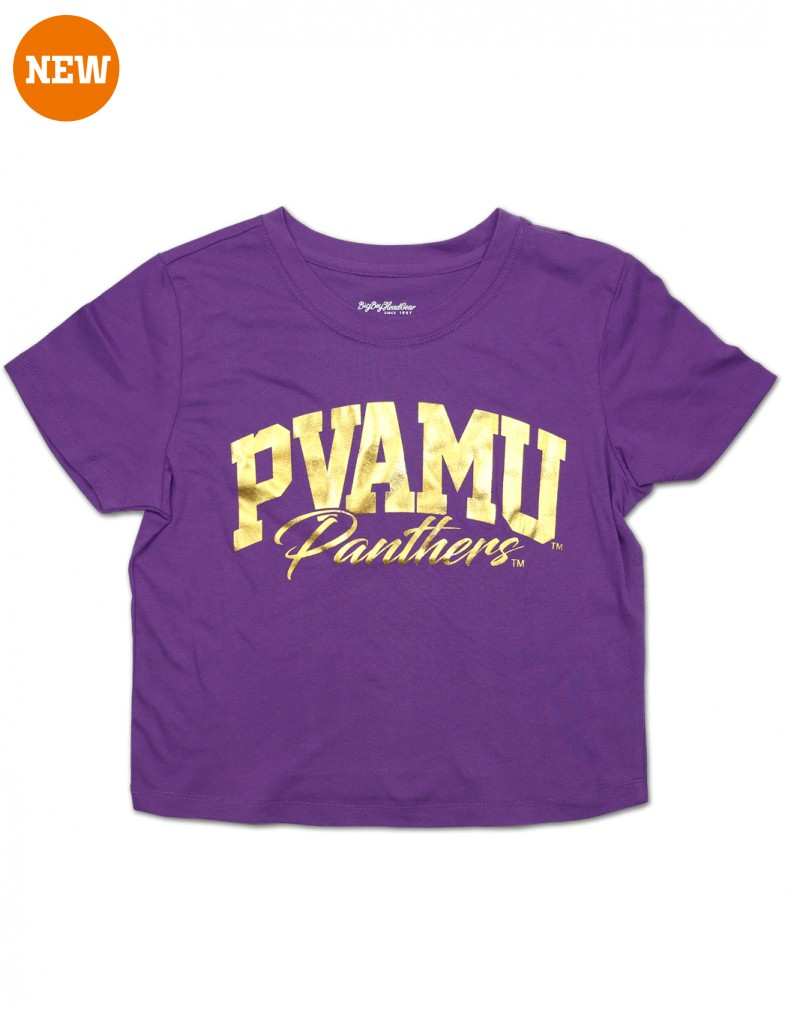 Prairie View A & M University Clothes Cropped T Shirt