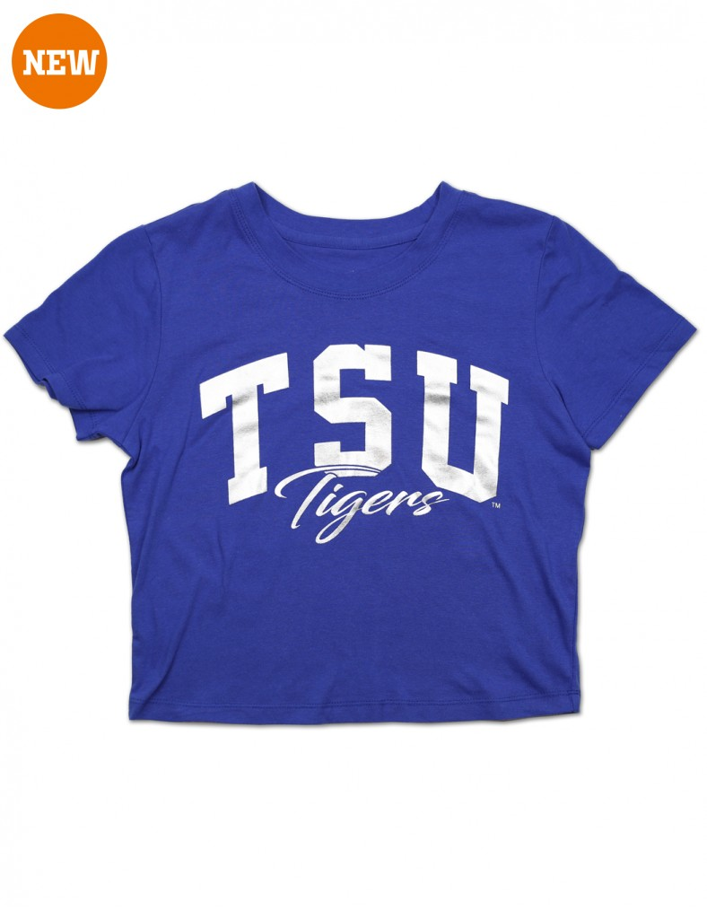 Tennessee State University Apparel Cropped T Shirt
