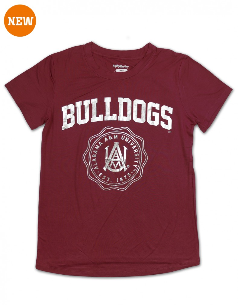 Alabama A & M University Foil T shirt clothes