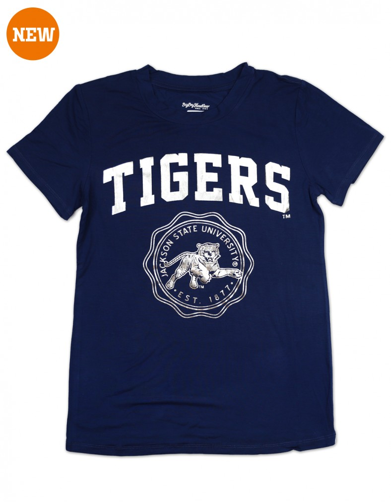 Jackson State University clothing Foil T shirt