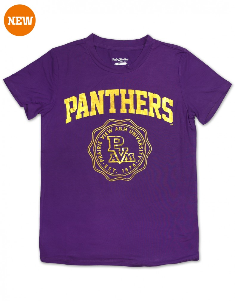 Prairie View A & M University Foil T shirt