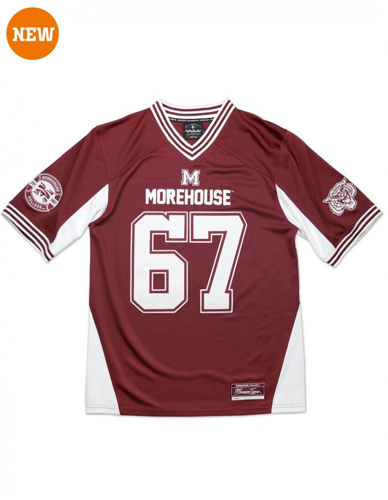 Morehouse College Clothing Football Jersey