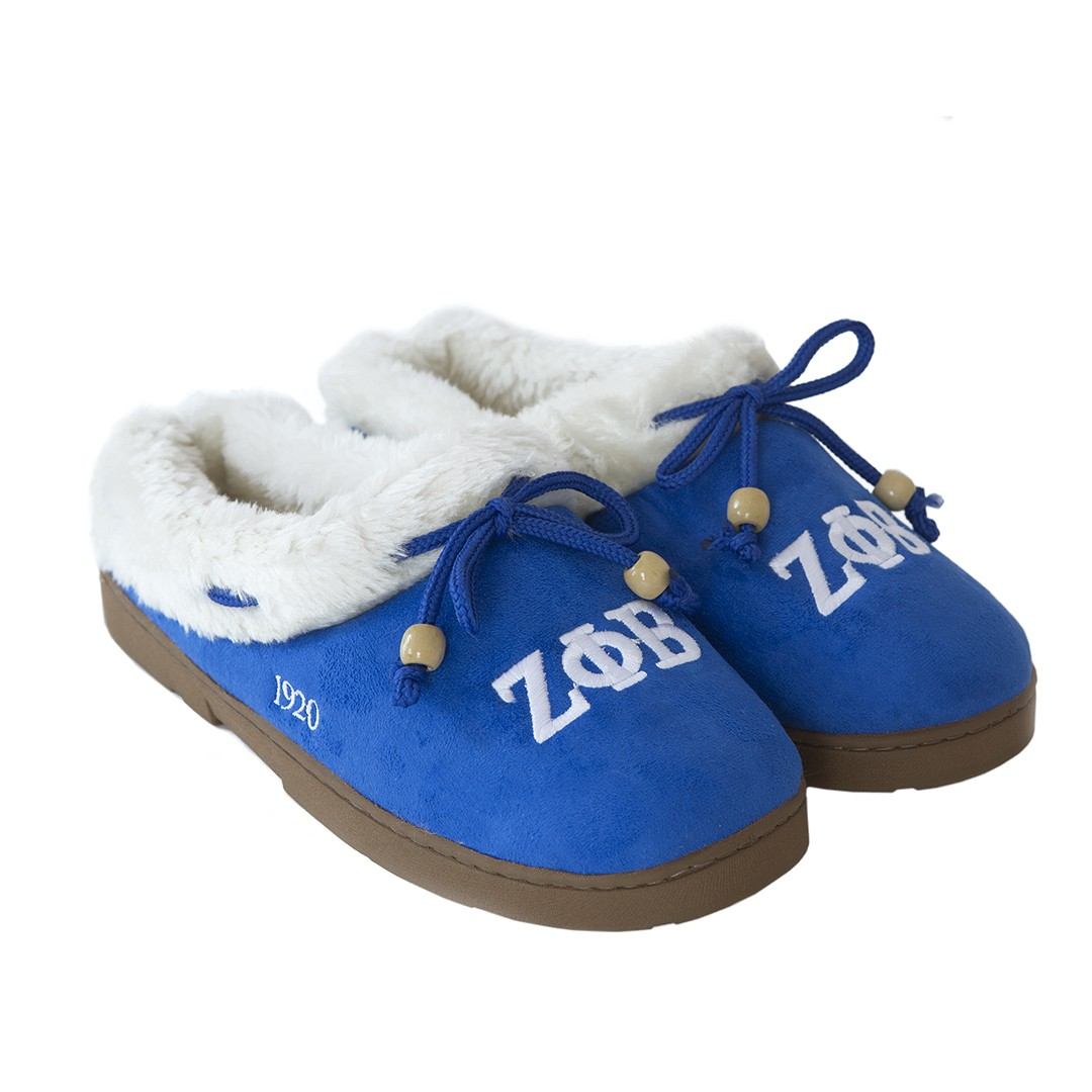 Zeta Phi Beta Cozy Slippers - XXlarge