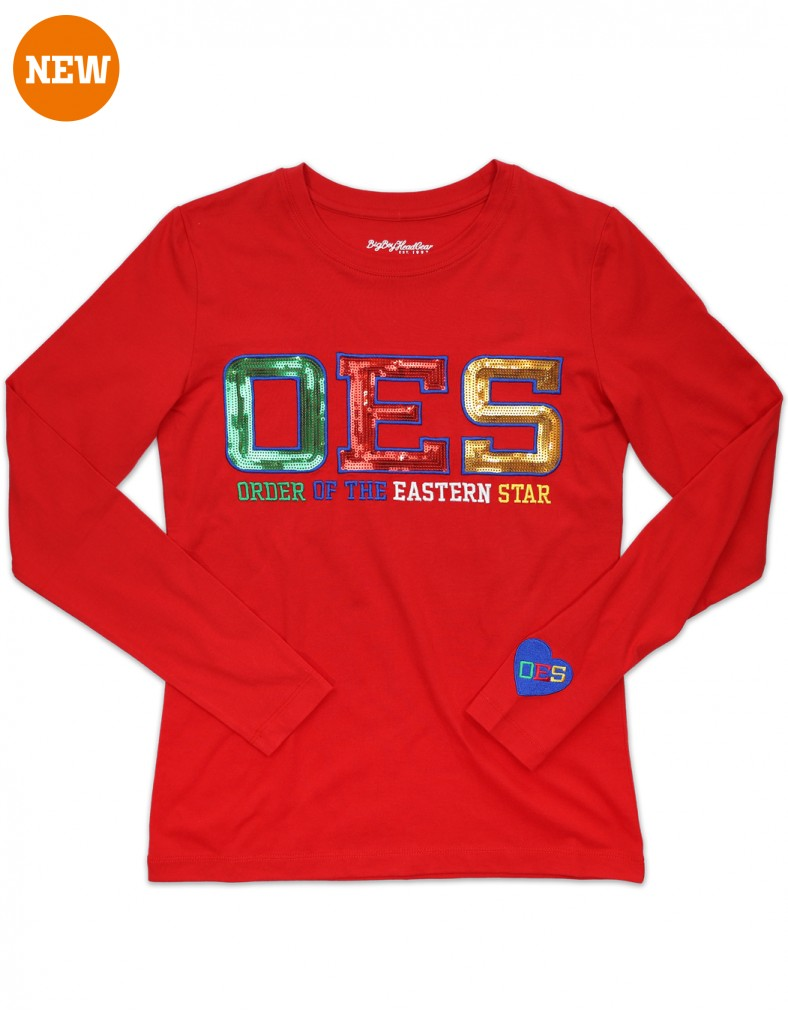 Order of the Eastern Star apparel Long Sleeve T shirt