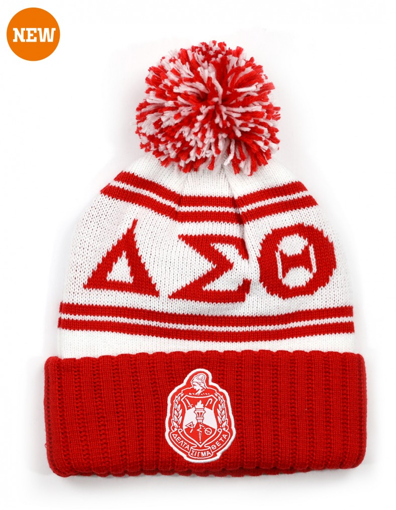 Delta Sigma Theta accessory Beanie Red