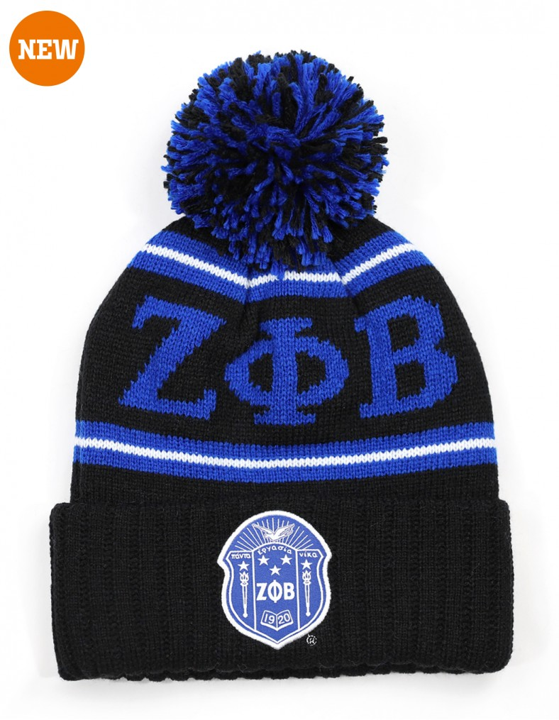 Zeta Phi Beta head wear - beanie roy