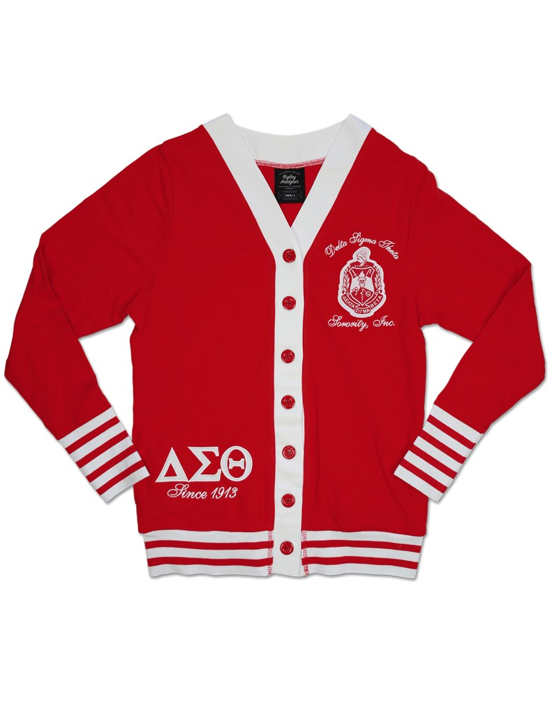 Delta Sigma Theta Apparel Cardigan - Red
