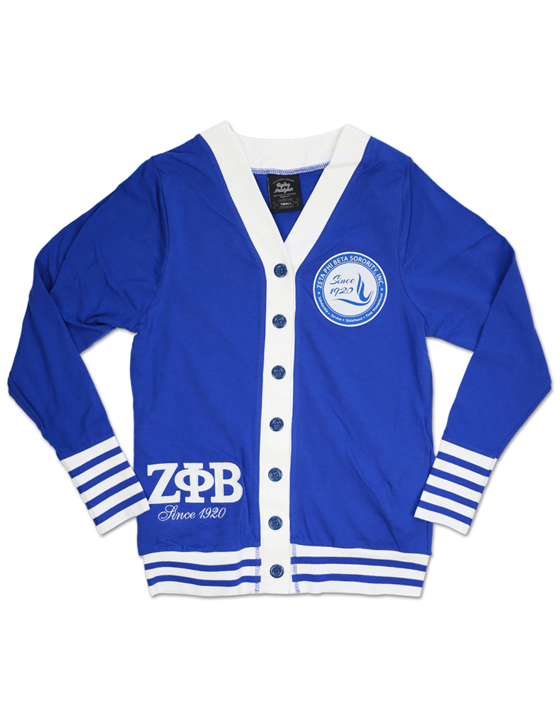 Zeta Phi Beta apparel Cardigan Sorority