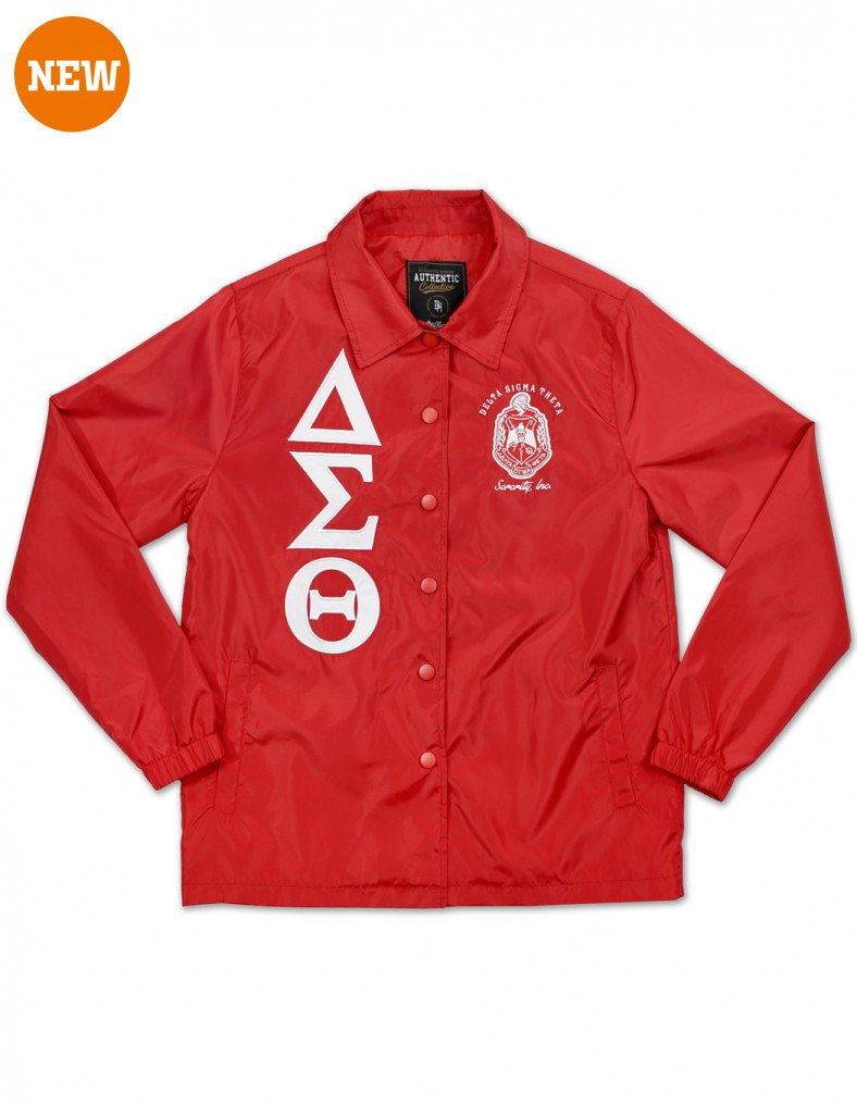 Delta Sigma Theta Apparel Coaching Jacket