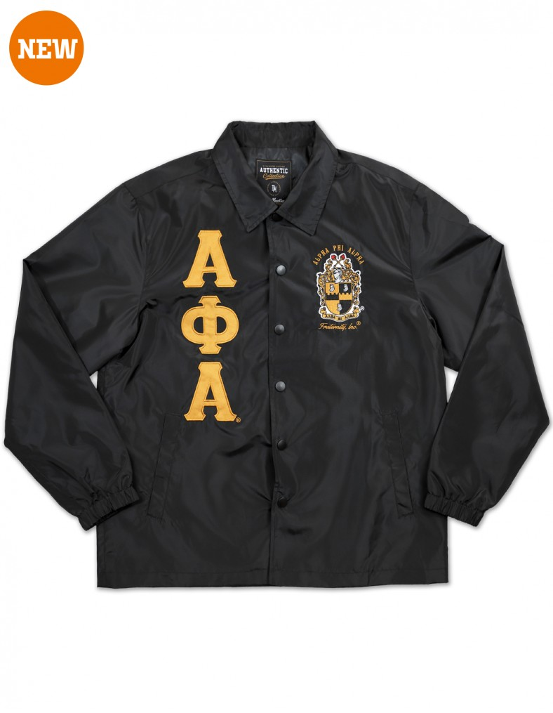 Alpha Phi Alpha apparel Coach Line Jacket