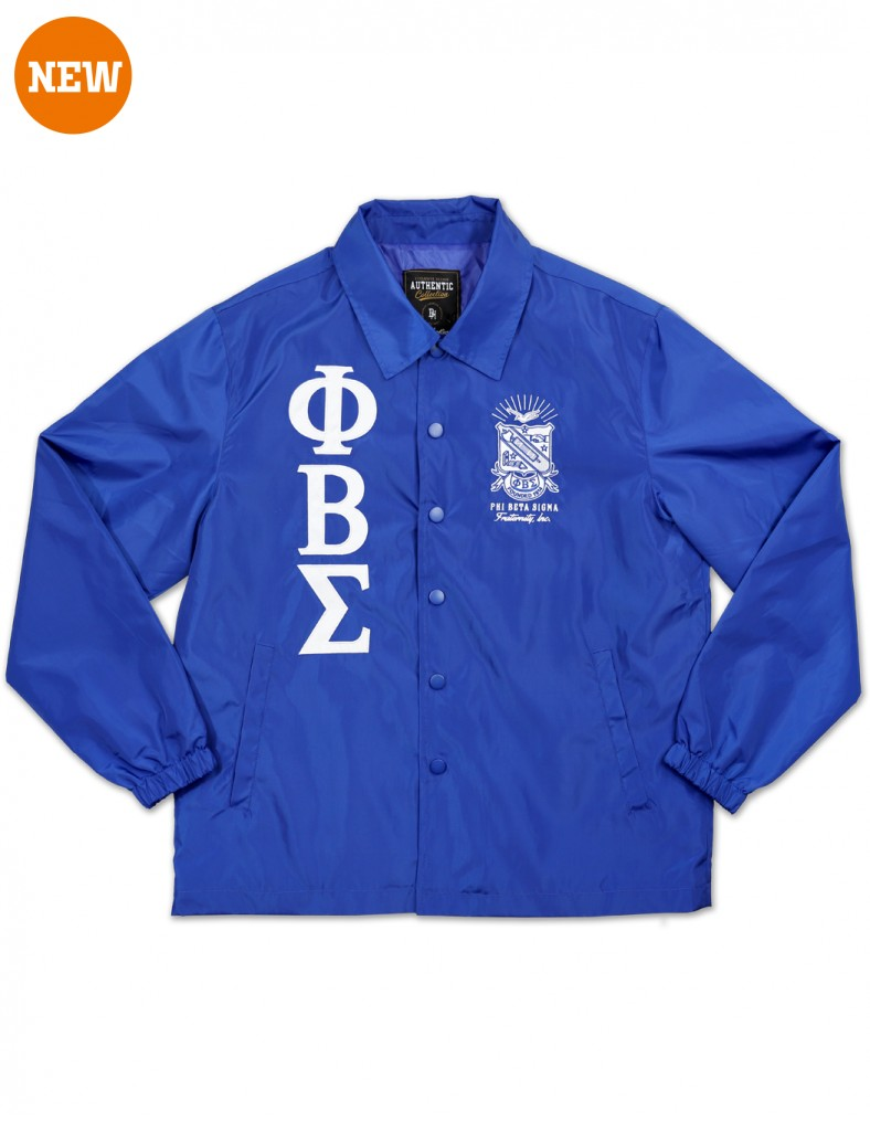 Coach line Jacket - Phi Beta Sigma