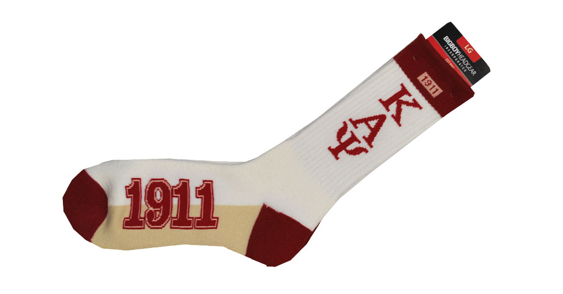 Accessories - Socks(white) - Kappa Alpha Psi