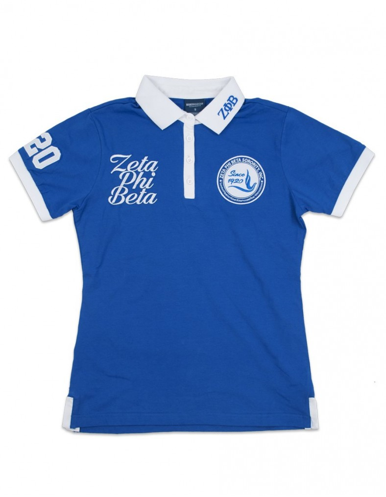 Zeta Phi Beta Apparel-polo shirt