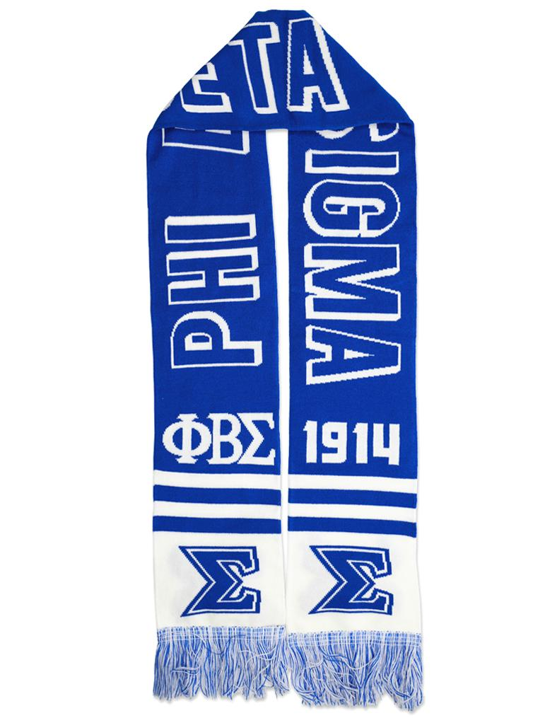 Phi Beta Sigma apparel scarf