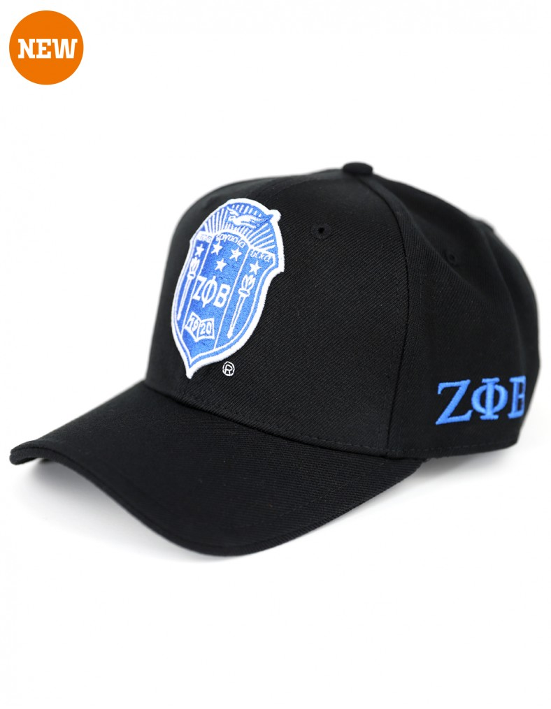Zeta Phi Beta accessory cap Shield