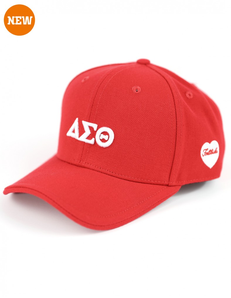 Delta Sigma Theta accessory Cap Fortitude Red